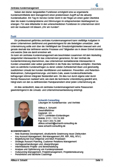 schacht consulting